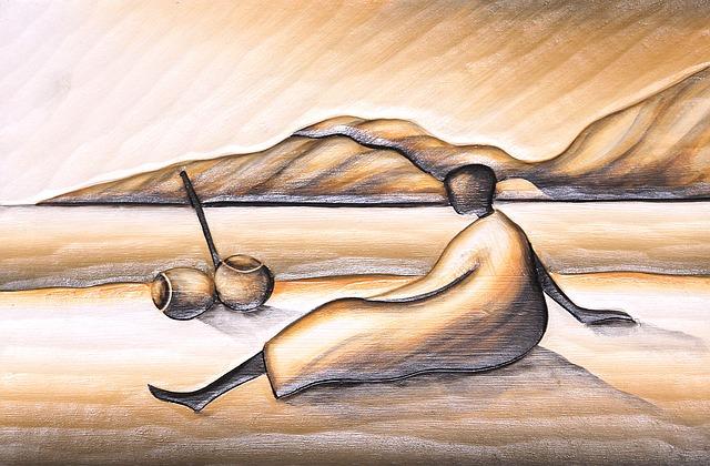 Záľuba s takmer nulovým kapitálom : maľba s pieskom