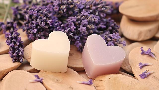 srdce z mýdla